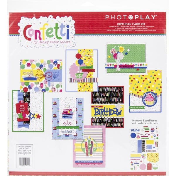 Confetti Card Kit Birthday