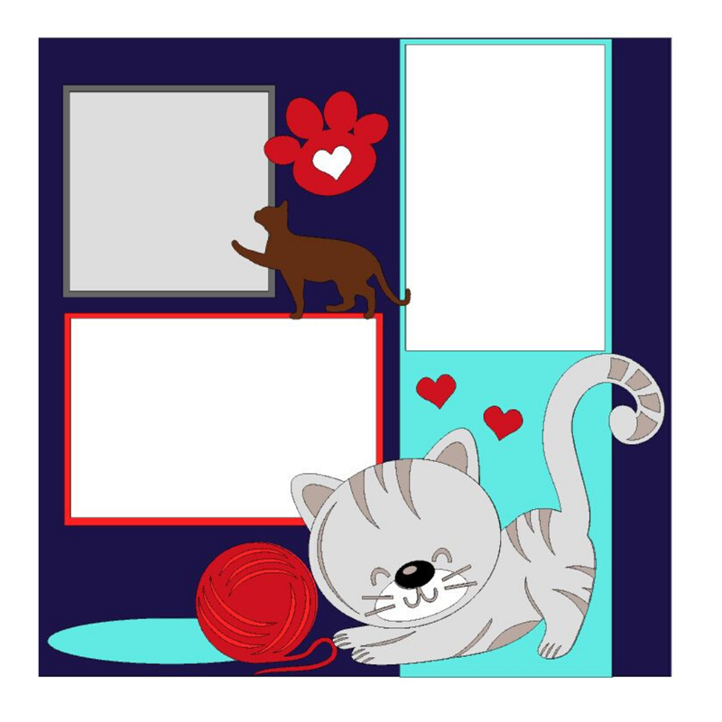 Love My Cats Kit