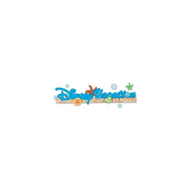 Disney Vacation Dimensional Sticker