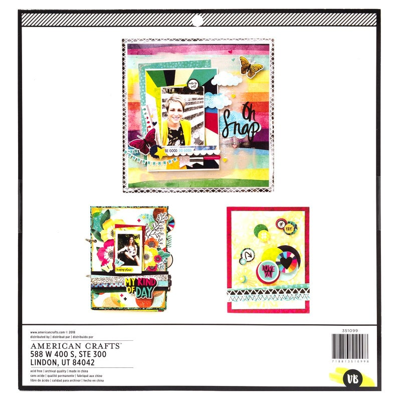 Mixed Media Color Kaleidoscope Paper Pad