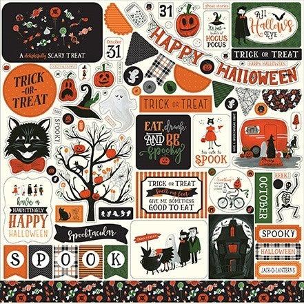 Trick or Treat 12x12 Sticker Sheet