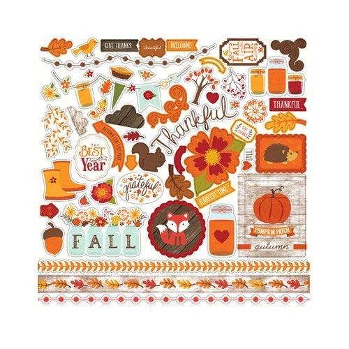 The Story of Fall 12x12 Sticker Sheet