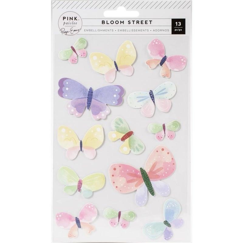 Bloom Street Butterfly Stickers