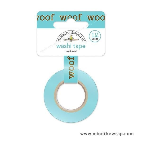 Woof Washi Tape