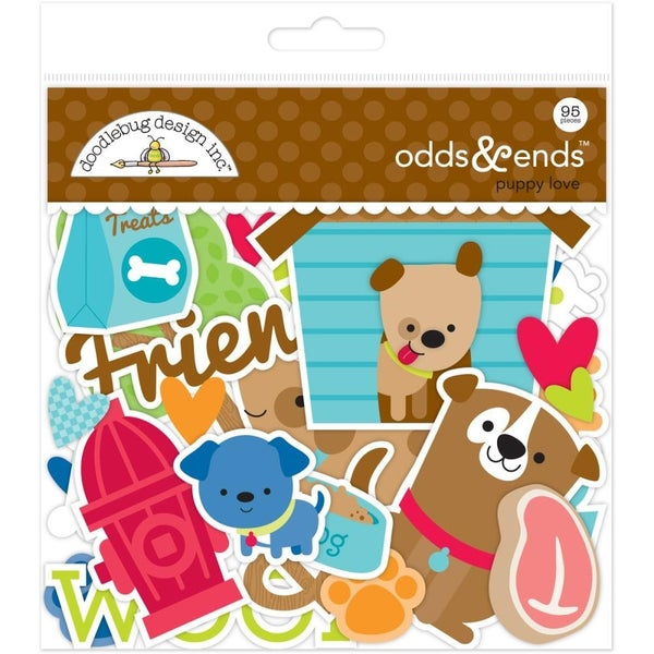 Puppy Love Odds and Ends Die Cuts