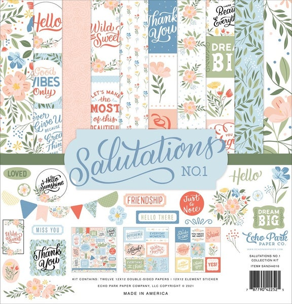 Salutations No.1 Paper Pack