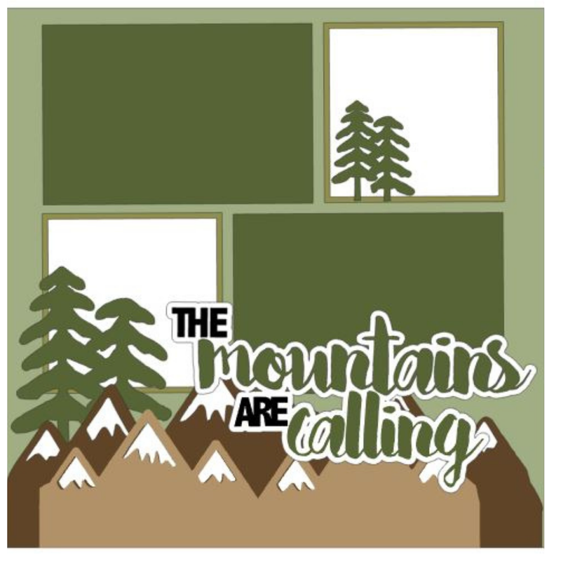 The Mountains are Calling Kit