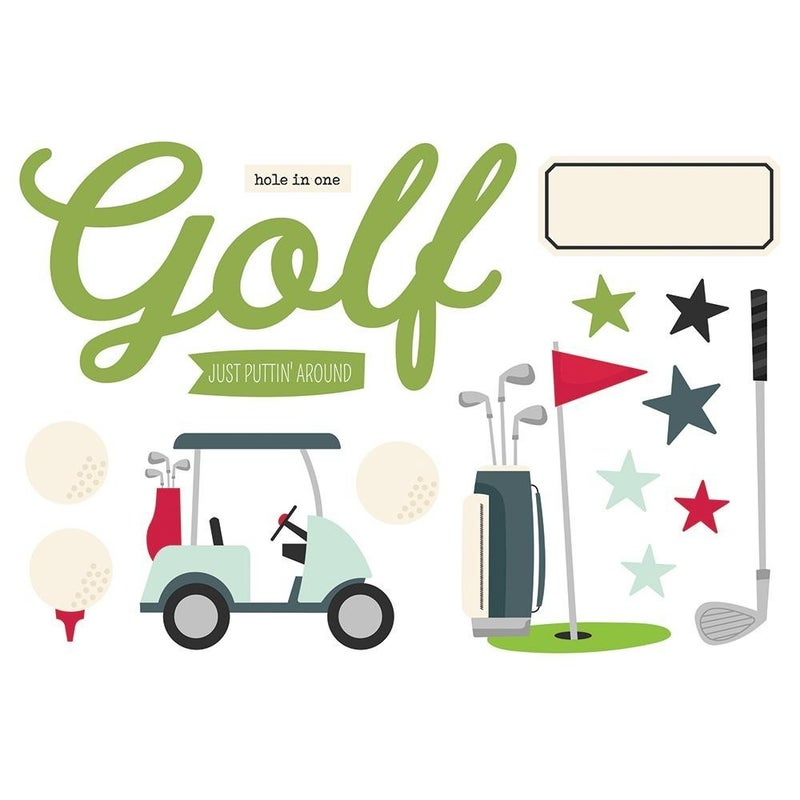 Golf Page Pieces