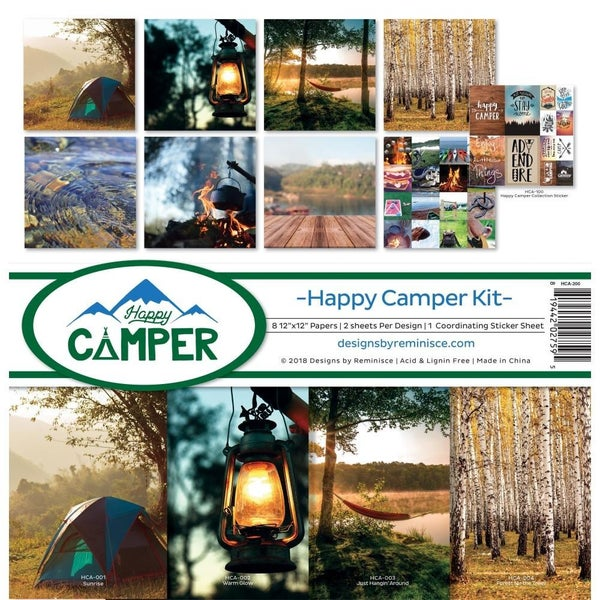 Happy Camper Paper Pack
