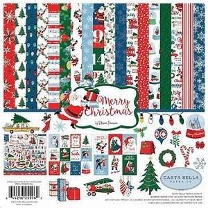 Merry Christmas Carta Bella