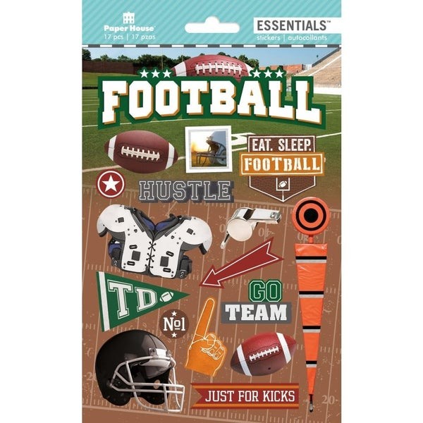 3D Football Stickers