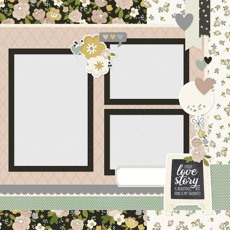 You & Me - Happily Ever After -  Wedding Page Kit Pack