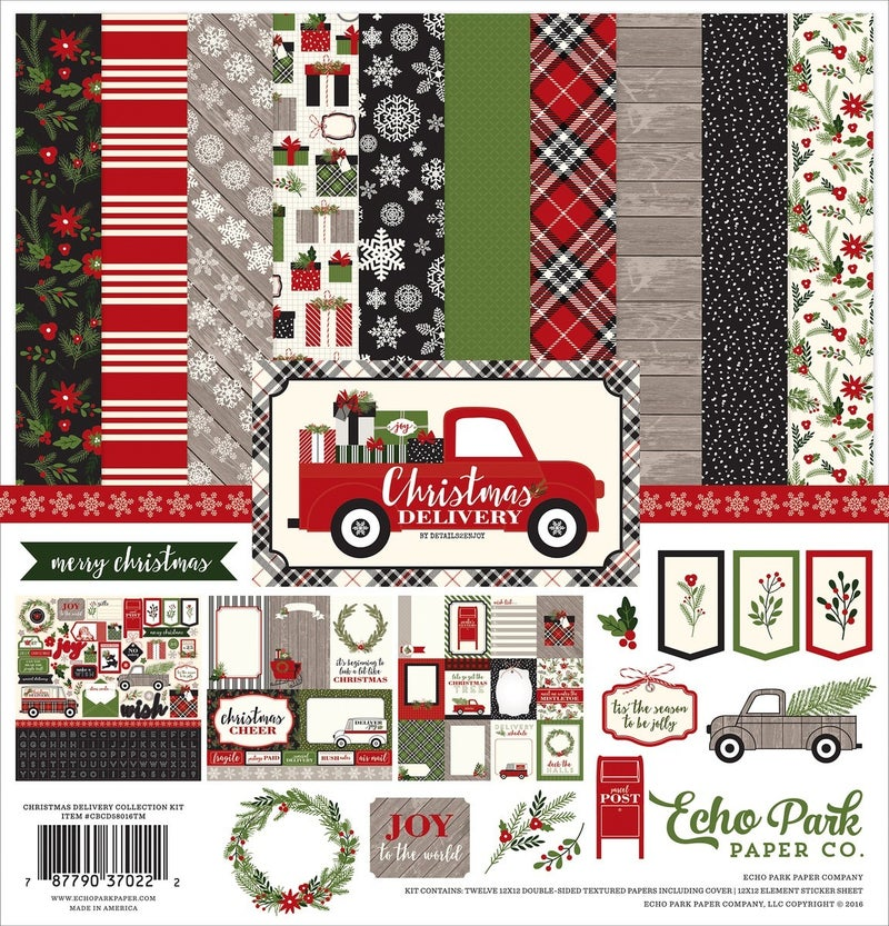 Christmas Deliver Paper Pack