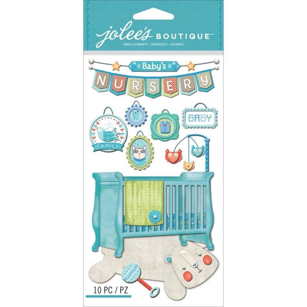 Baby Boy Nursery 3D Stickers