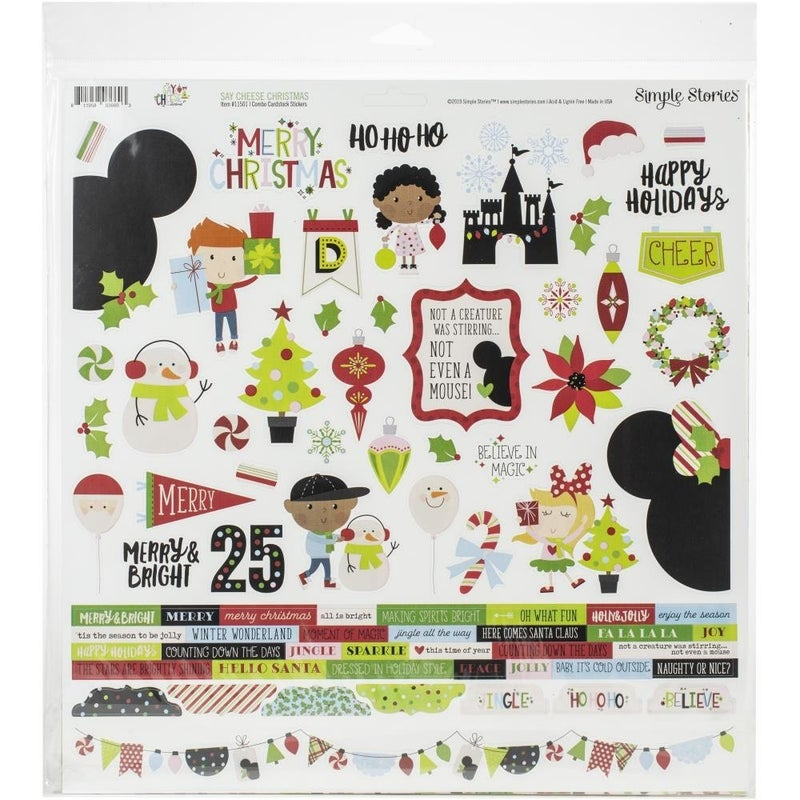Say Cheese Disney Christmas Paper Pack