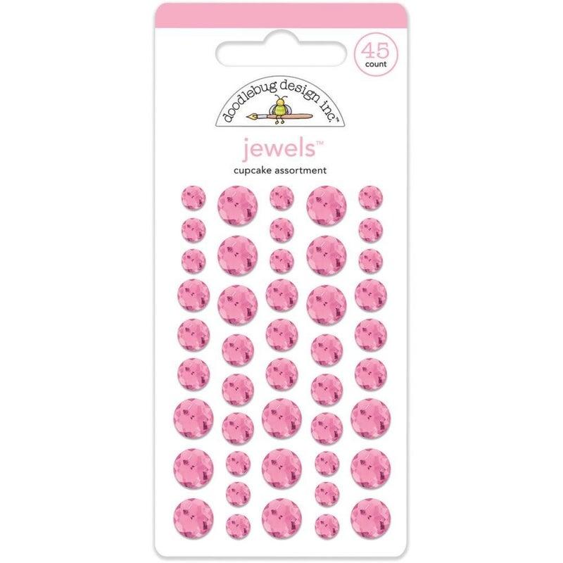 Doodlebug Jewels - Cupcake Pink