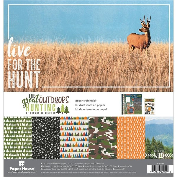 The Great Outdoors Hunting Paper pack