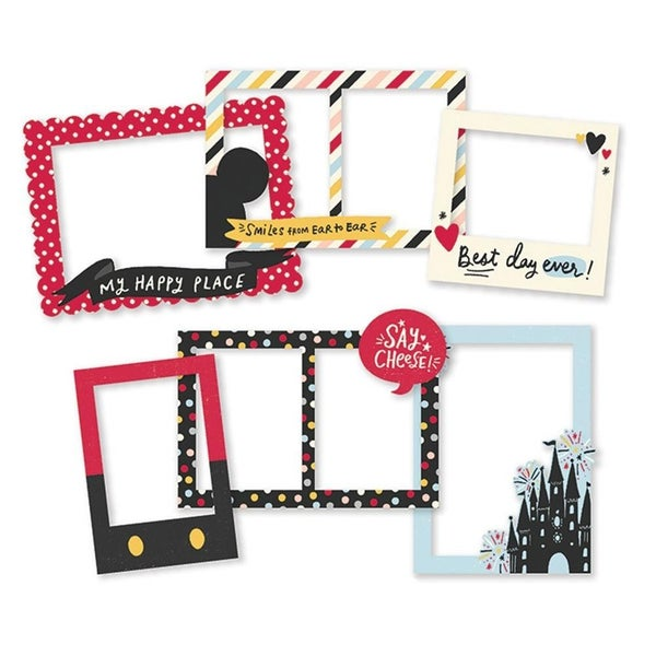 Say Cheese Disney Chipboard Frames