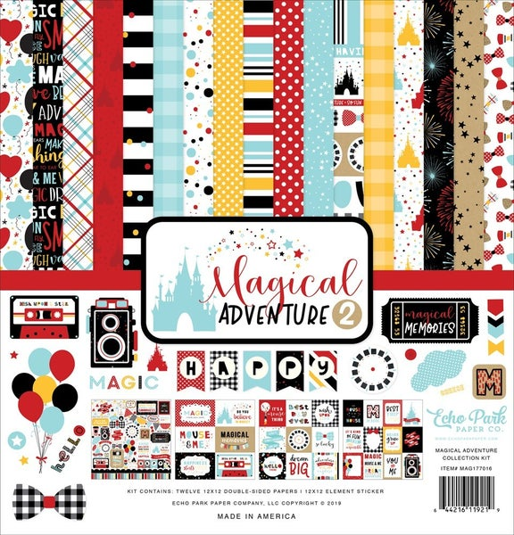 Magical Adventure 2 Paper Pack
