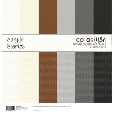 Basics Textured Cardstock Pack