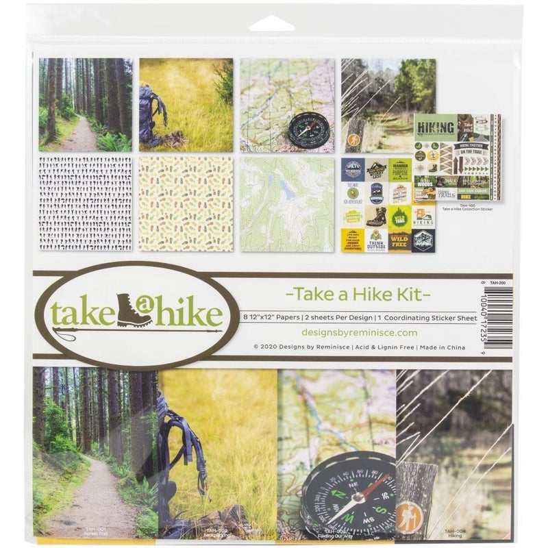 Take a Hike Paper Pack