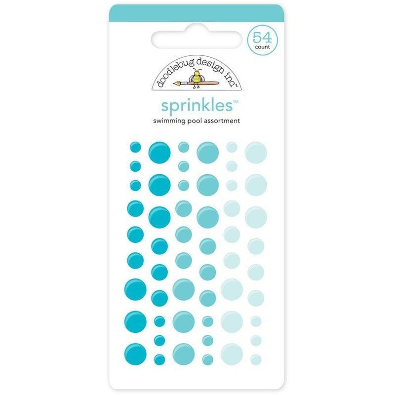 Doodlebug Sprinkles - Swimming Pool Blue