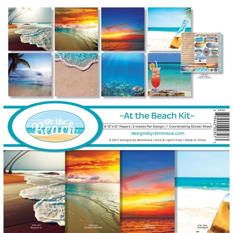 At the Beach Paper Pack