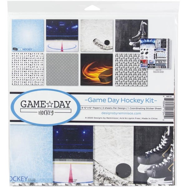 Game Day Hockey Paper Pack