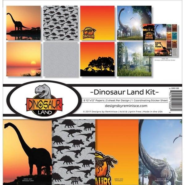 Dinosaur Land Paper Pack