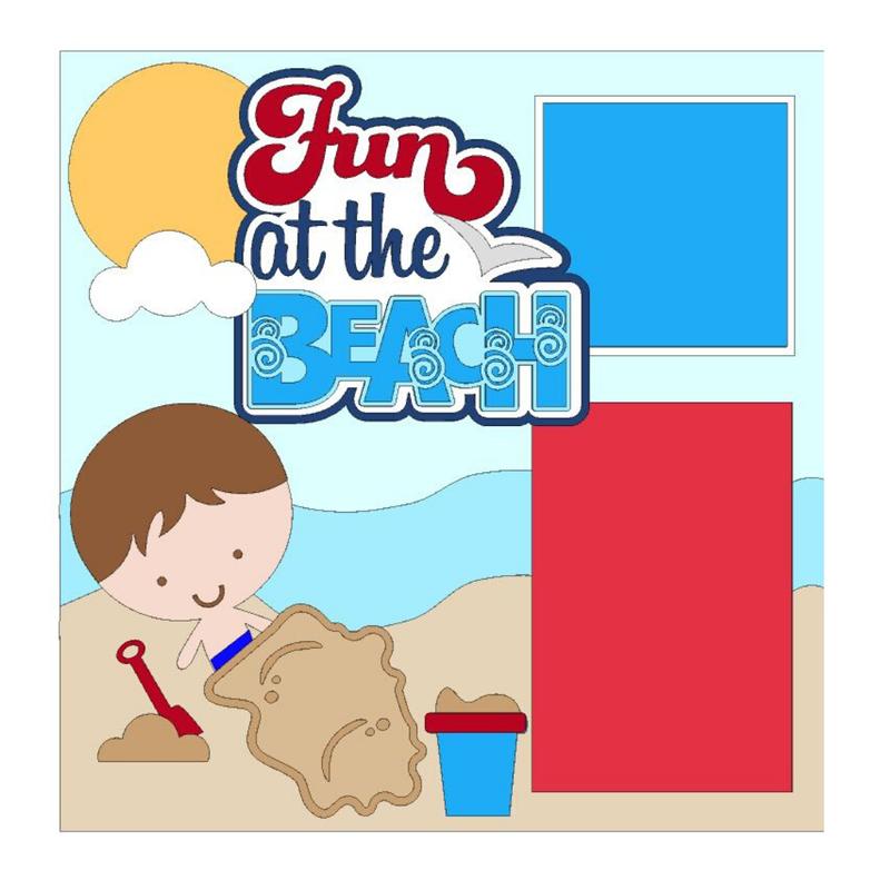 Fun at the Beach Boy Kit