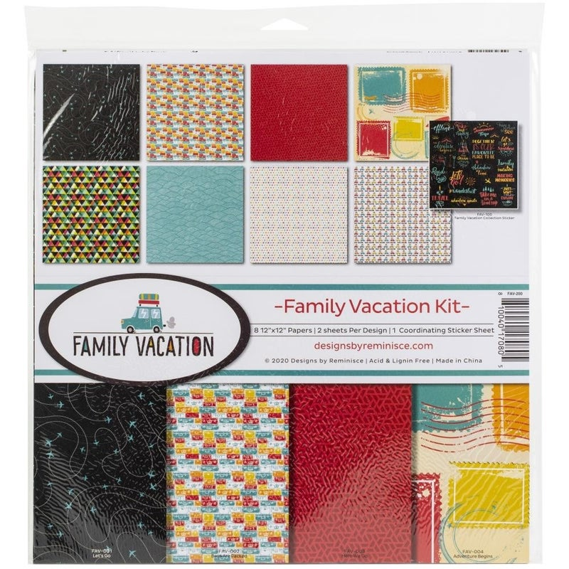 Family Vacation Paper Pack