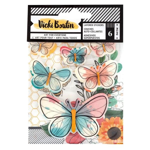 Wildflower Layered Stickers