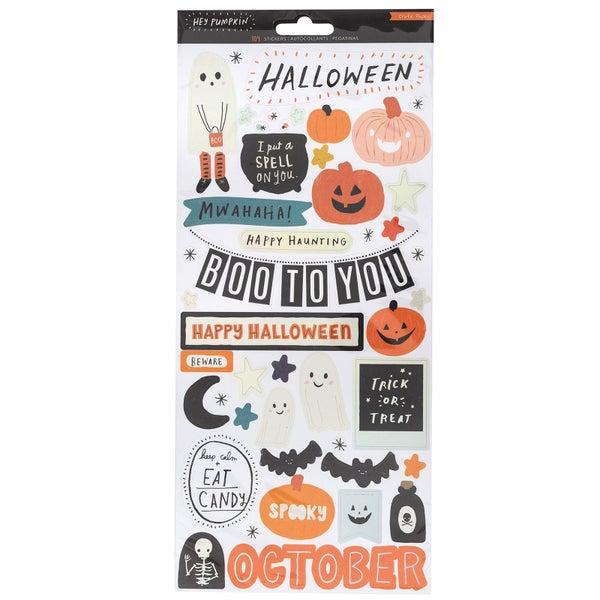 Hey Pumpkin Large Sticker Sheet