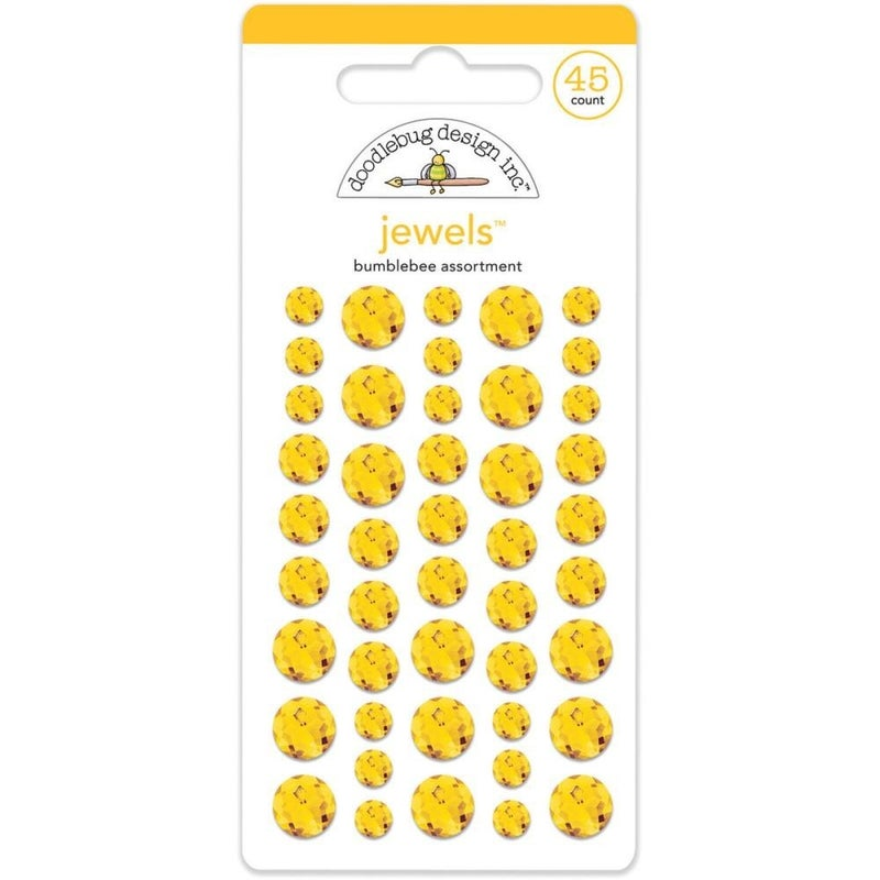 Doodlebug Jewels - Bumblebee Yellow