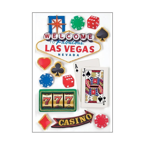 Las Vegas 3D Stickers