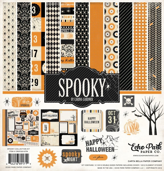 Spooky Paper Pack