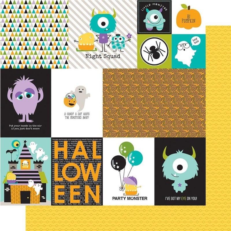 Monsters & Friends 8-sheet Paper Pack