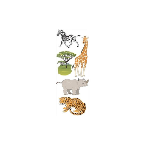 Safari Zoo Animal Stickers