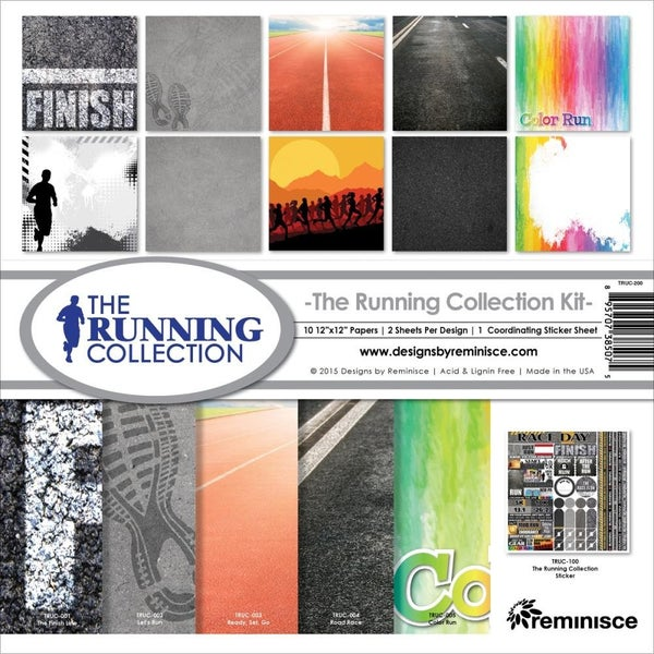 Running Race Paper Pack