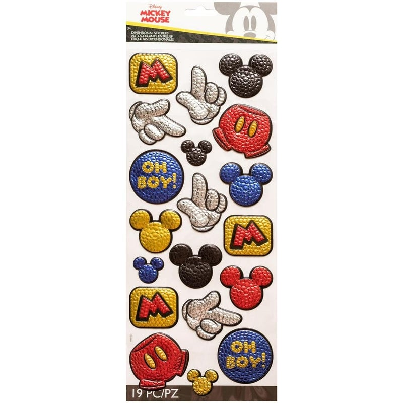 Disney Mickey Sequin Stickers