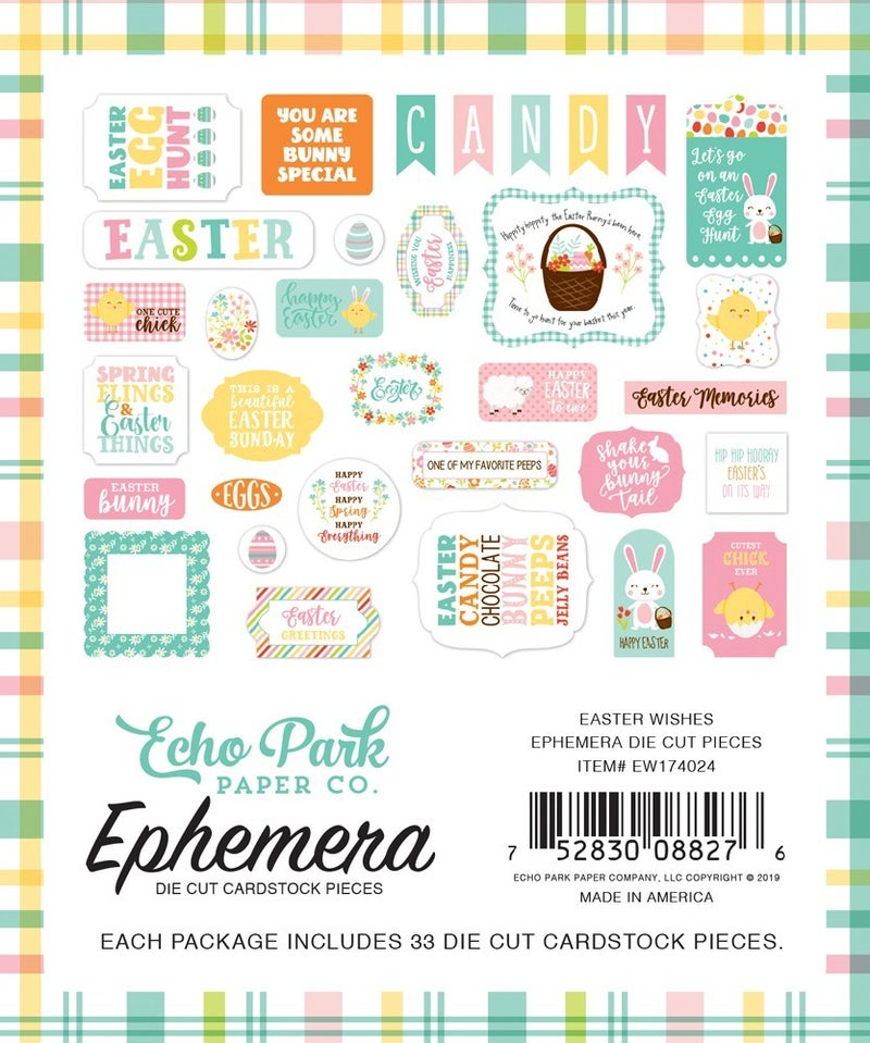 Easter Wishes Ephemera