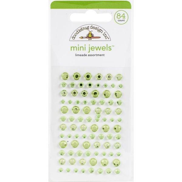Doodlebug Mini Jewels - Limeade
