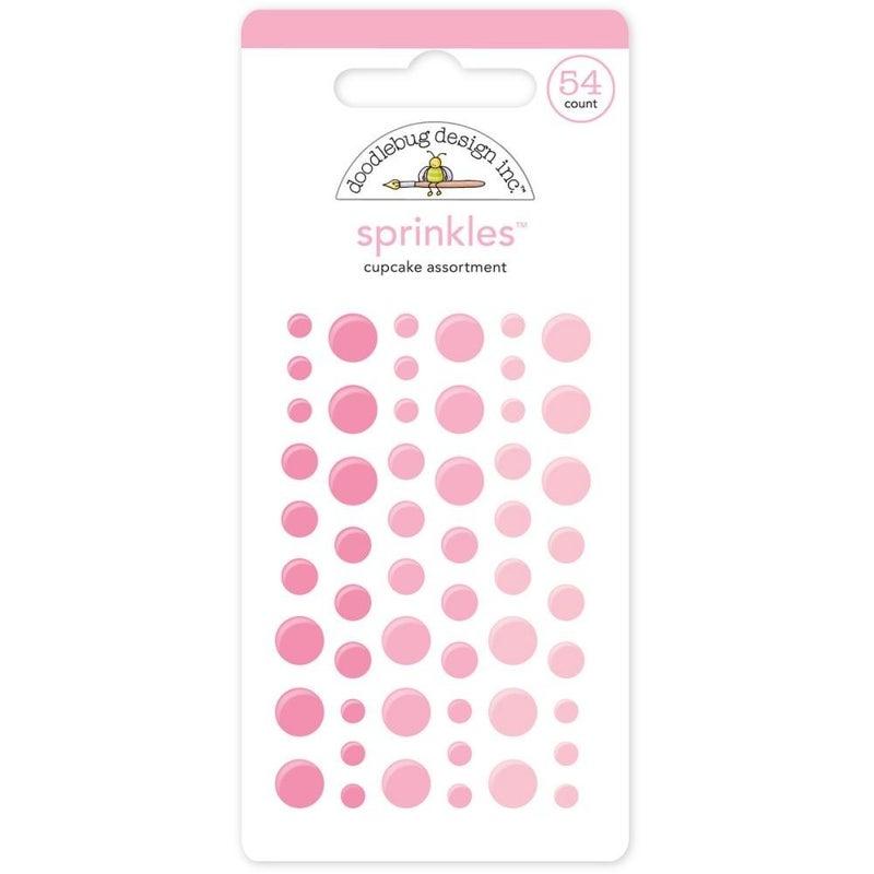 Doodlebug Sprinkles - Cupcake Pink