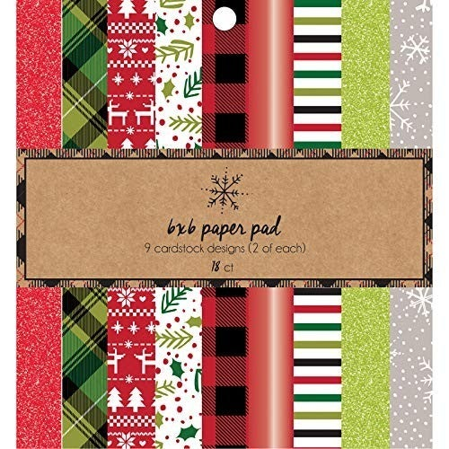 Classic Christmas 6x6 Paper Pad