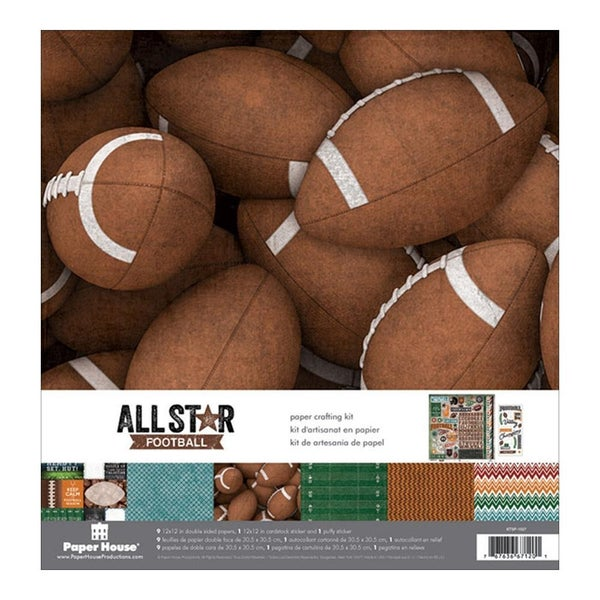 Football Paper Pack