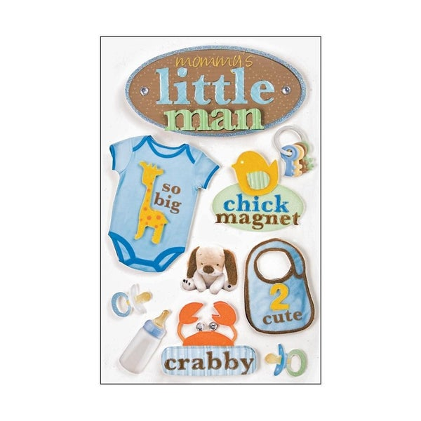 Little Man 3D Stickers