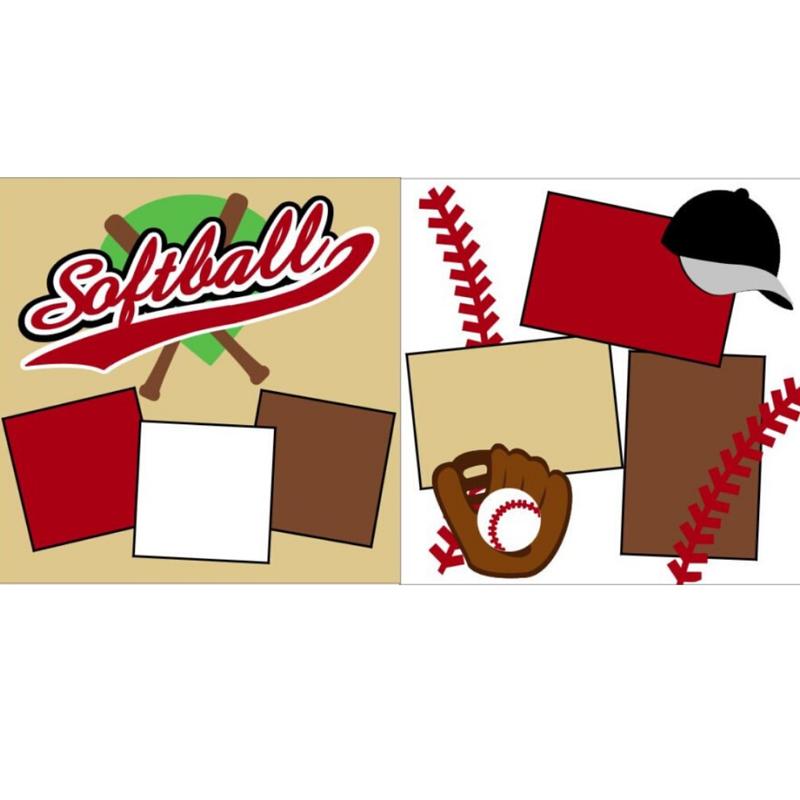 Softball White kit