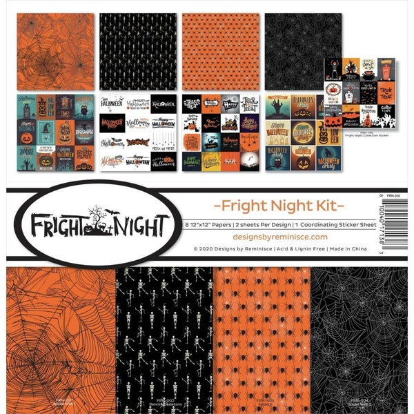 Fright Night Paper Pack