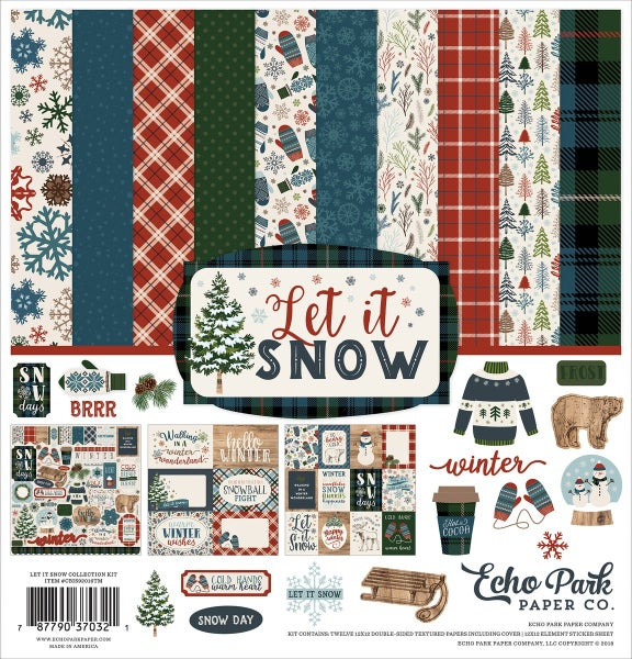 Let it Snow Paper Pack