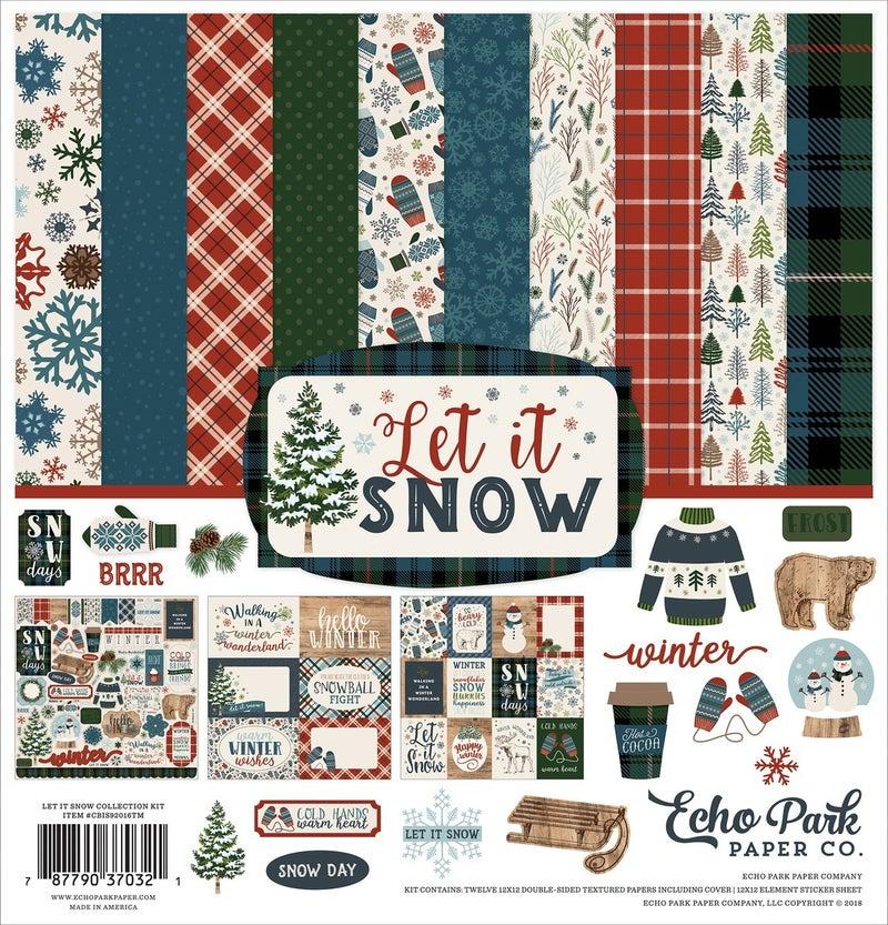Let it Snow Paper Pack